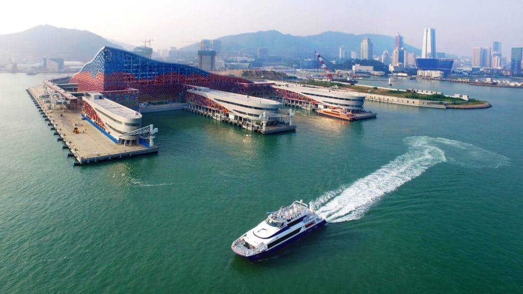 Prince Bay Cruise Terminal in Shekou