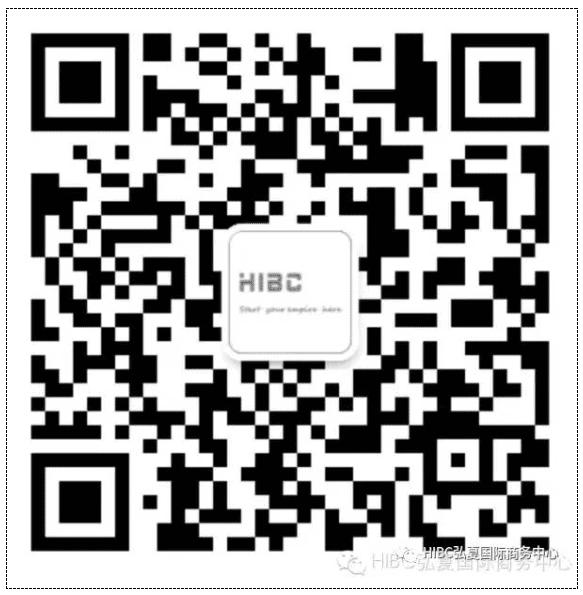 HIBC弘夏国际商务中心 QR code
