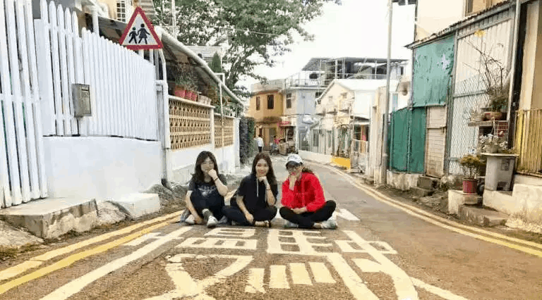 Sleep Shek-O village has very little traffic