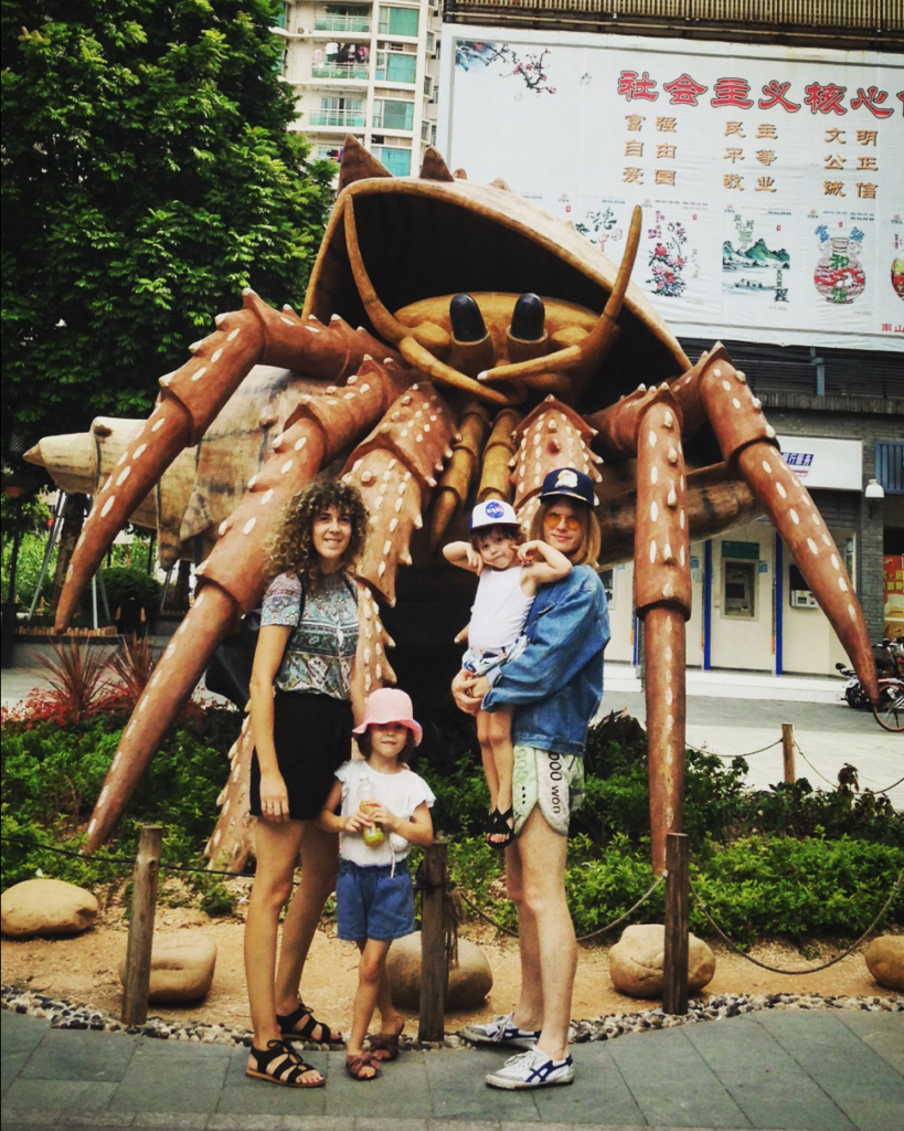 Shekou expat family