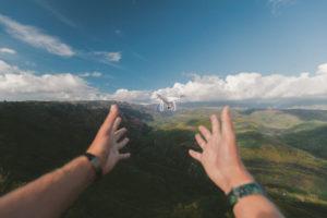 DJI Flying Drone