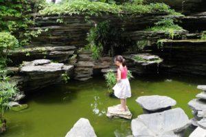 Shenzhen Girl in Pond