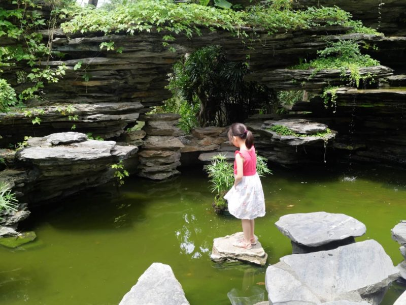 Shenzhen Girl in Pond