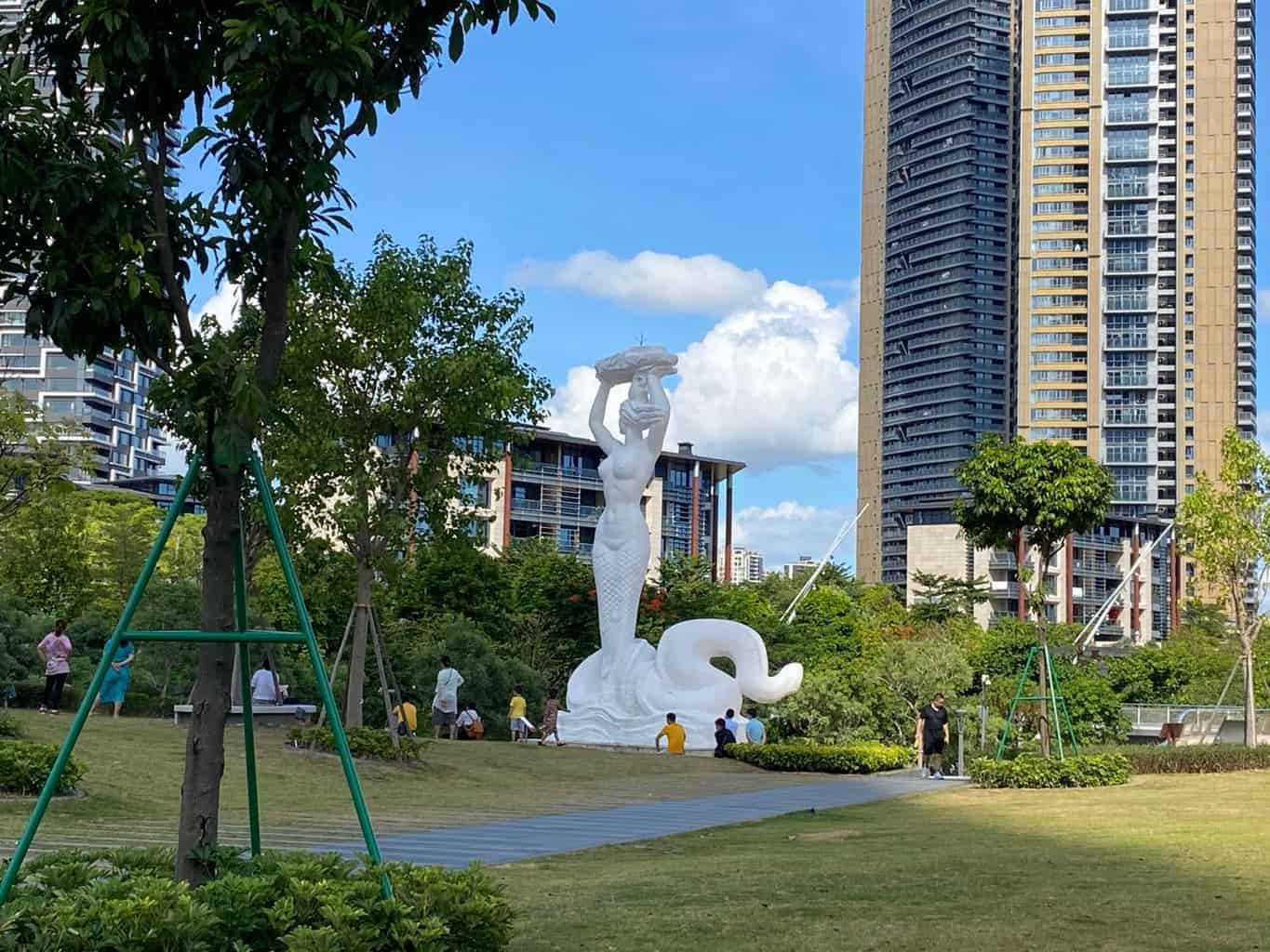 Shekou is a family oriented area