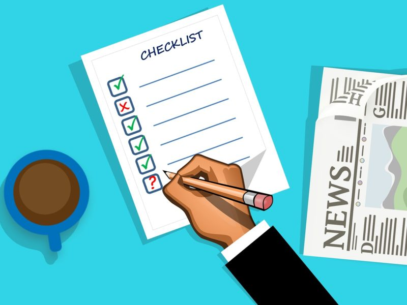 Checklist for the Definition of Done to Ensure quality of the articles we publish.